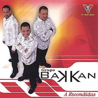 Grupo Bakkan - Escondidas [CD] USA import