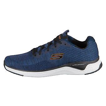 Skechers Kryzik Solar Fuse 52758NVBK   men shoes