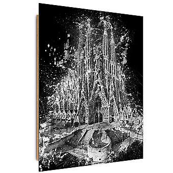 Deco Panel, the Sagrada Familia in Barcelona