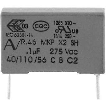 MKP suppression capacitor Radial lead 68 nF 275 V 20 % 15 mm (L x W x H) 18 x 5 x 11 Kemet R46KI26800001M+ 1 pc(s)
