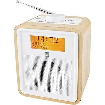 DAB+ Radio alarm clock Dual DAB CR 27 DAB+, FM Wood