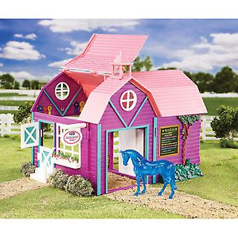 Breyer Crazy Horse Barn - 1:32 (Kids , Toys , Dolls , Playsets and figures , Animals)