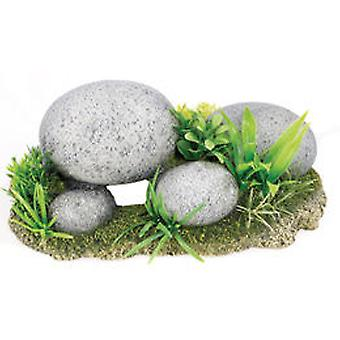 Classic For Pets Pebble Garden 245mm (Fish , Decoration , Rocks & Caves)