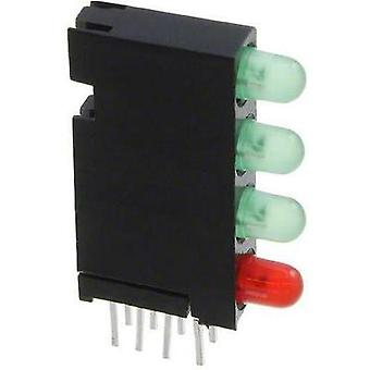LED component Green, Red (L x W x H) 24 x 14.35 x 4.32 mm Dialight