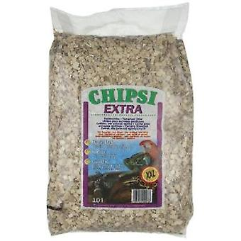 Chipsi Extra chopped beech Chipsi xxl 10 Lts. (Reptiles , Beds and Hammocks)
