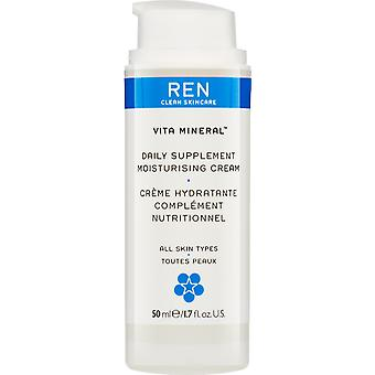 Ren Vita Mineral daglig Supplement Moisturising Cream