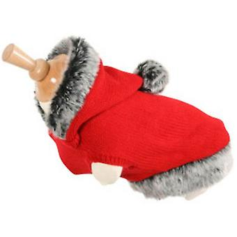 Zolux Jersey-hood red (dogs, clothes, shirts)