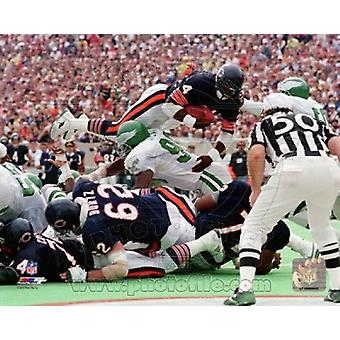 Walter Payton 1986 Action Sports Photo