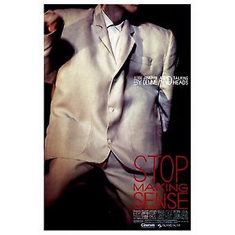 Stop Making Sense-Film-Plakat-Druck (27 x 40)