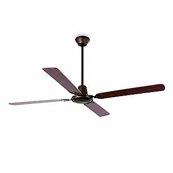 Faro ceiling fan Malvinas brown 140 cm / 55