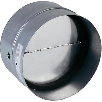 Backflow flap incl. rubber sealing Suitable for pipe diameter: 12.5 cm Wallair N35984 Galvanized