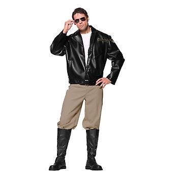 Trooper Police Officer Occupation Men Costume OS