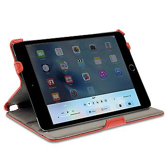 Celicious Notecase U Wallet Stand Folio Case for Apple iPad Mini 4 - Red