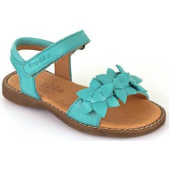 Froddo Girls G3150091-5 Sandals Light Green Aqua