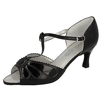 Ladies Dance Steps by Equity Dancing Shoes Onyx