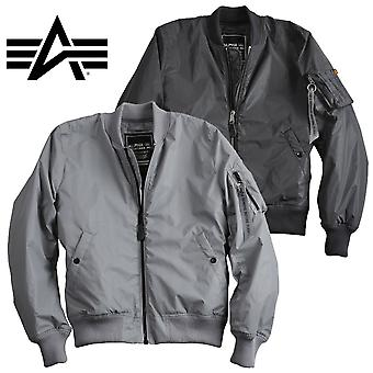 Alpha industries MA-1 jacket VF reflective