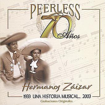 Hermanos Zaizar - 70 Anos Peerless Una Historia Musical [CD] USA import