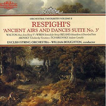 Orchestral Favourites - Respighi's Ancient Airs and Dances Suite No. 3 [CD] USA import