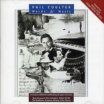 Phil Coulter - Words & Music [CD] USA import