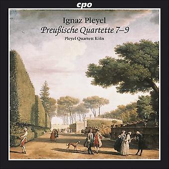 I. Pleyel - Ignaz Pleyel: Preu Ische Quartette 7-9 [CD] USA import