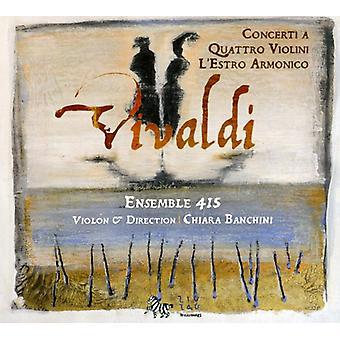 A. Vivaldi - Vivaldi: Koncert en Quattro Violini; L'Estro Armonico [CD] USA import
