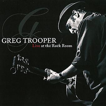 Greg Trooper - Live i Rock værelse [CD] USA importen