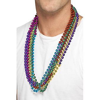 Rainbow Perlenketten Set 6 Farben Gay Pride Regenbogen