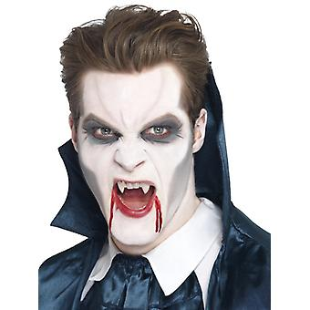 Vampire fangs white glue
