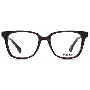 Miss KG Florrje Modern Square Brille In lila Demi