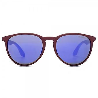 Carrera 5019 Sunglasses In Burgundy Violet Mirror