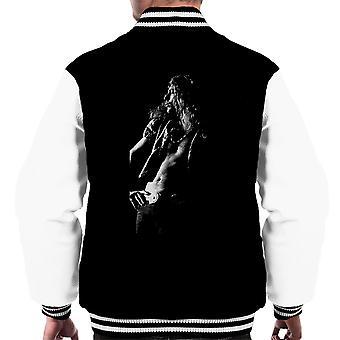 Led Zeppelin Robert Plant Cardiff Capitol Theatre 1972 Men's Varsity Jacket