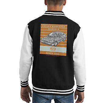 Haynes Workshop Manual 1923 Ford Mondeo Stripe Kid's Varsity Jacket