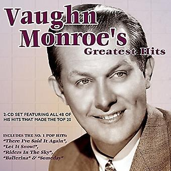 Vaughn Monroe - Monroe Vaughn-Greatest Hits [CD] USA import