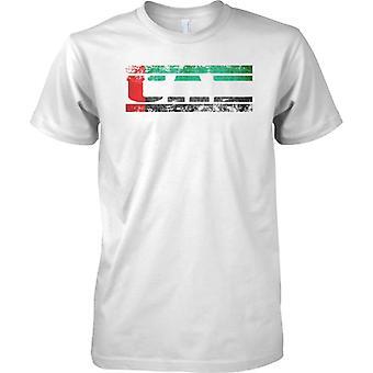 UAE Grunge land namn flagga effekt - barn T Shirt