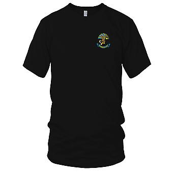 USMC Marine Luftfahrtlogistik Geschwader 36 H & MS36 - militärische Vietnamkrieg gestickt Patch - Herren-T-Shirt