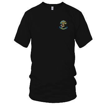 USMC Marine Aviation Logistics Squadron 36 H&MS36 - Military Vietnam War Embroidered Patch - Mens T Shirt