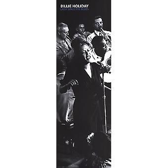 Billie Holiday Lady Sings The Blues - Slim Poster drucken Poster drucken