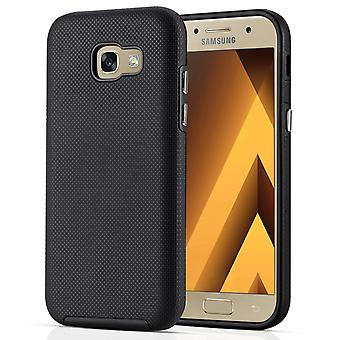 Samsung Galaxy A5 (2017) PC and TPU Textured Case - Black