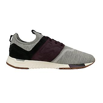 New balance men's NBMRL247LMGREY grey leather of sneakers