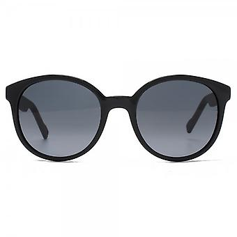 Boss Orange lunettes de ronds Preppy en noir mat noir