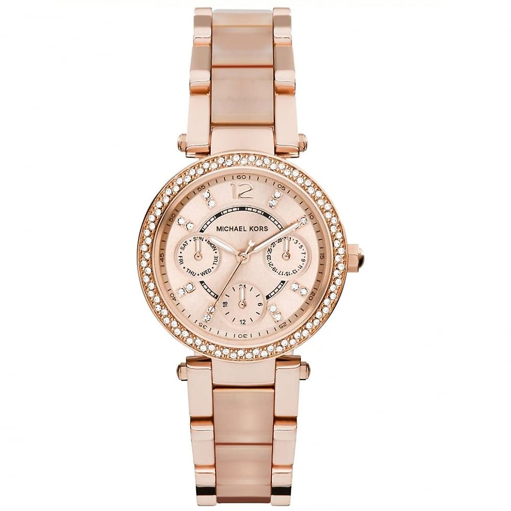 Michael Kors Watches Mk6110 Michael Kors Rose Gold Ladies Watch