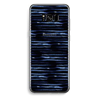 Samsung Galaxy S8 Transparent Case - Surprising lines