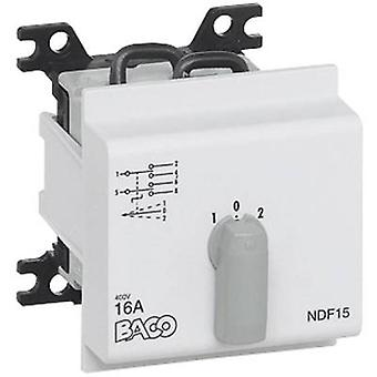 Changeover switch 16 A 2 x 30 ° Grey