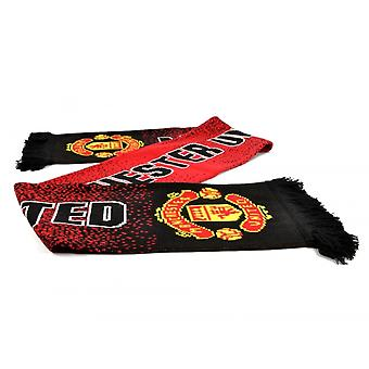 Manchester United FC Unisex Adults Speckled Scarf