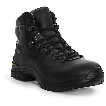 Trespass Boys Walker Waterproof Breathable Leather Walking Boots