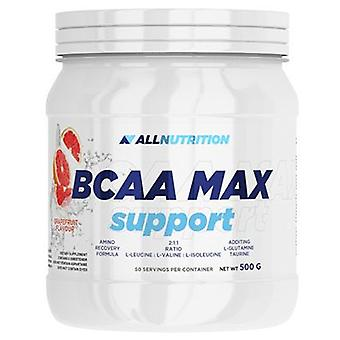 Allnutrition Bcaa Max Support Orange 500 gr (Sport , Muscle mass , Amino acids)