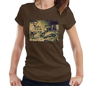 Goldfinger 1964 Shirley Eaton Sean Connery James Bond 007 Women's T-Shirt