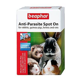 Beaphar anti-parasit Spot på kanin, Guinea Pigs, opspore og rotter