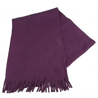 Bassin and Brown Randall Plain Scarf - Purple