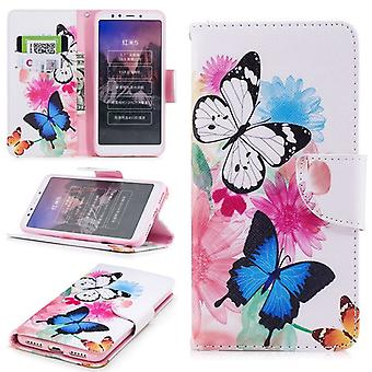Pocket wallet motif 32 for Xiaomi Redmi 5 protection sleeve case cover pouch new